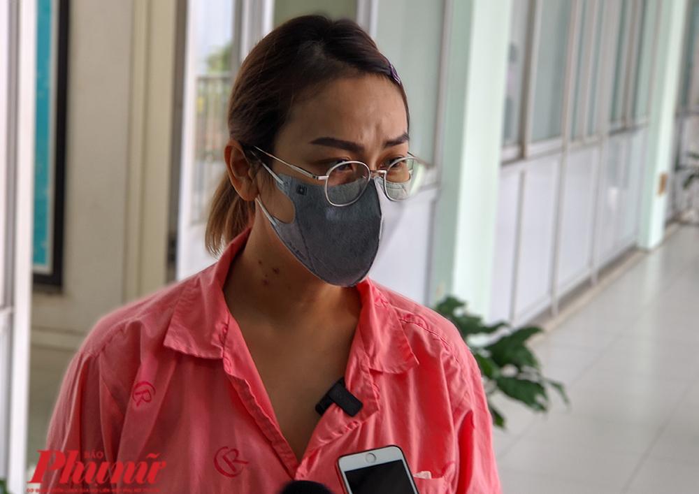 Chị T.T.X.T., 36 tuổi sau khi được mổ lấy khối u nặng 2,2 kg ở tụy