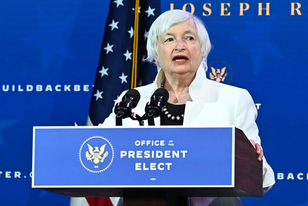 Bà Janet Yellen trở thành Nữ Bộ trưởng Tài chính đầu tiên của Mỹ.