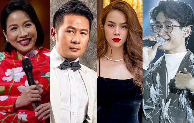 Ca sĩ Mỹ Linh, Bằng Kiều, Hồ Ngọc Hà, Hà Anh Tuấn sẽ cùng hoà giọng trong chương trình The Master of symphony.
