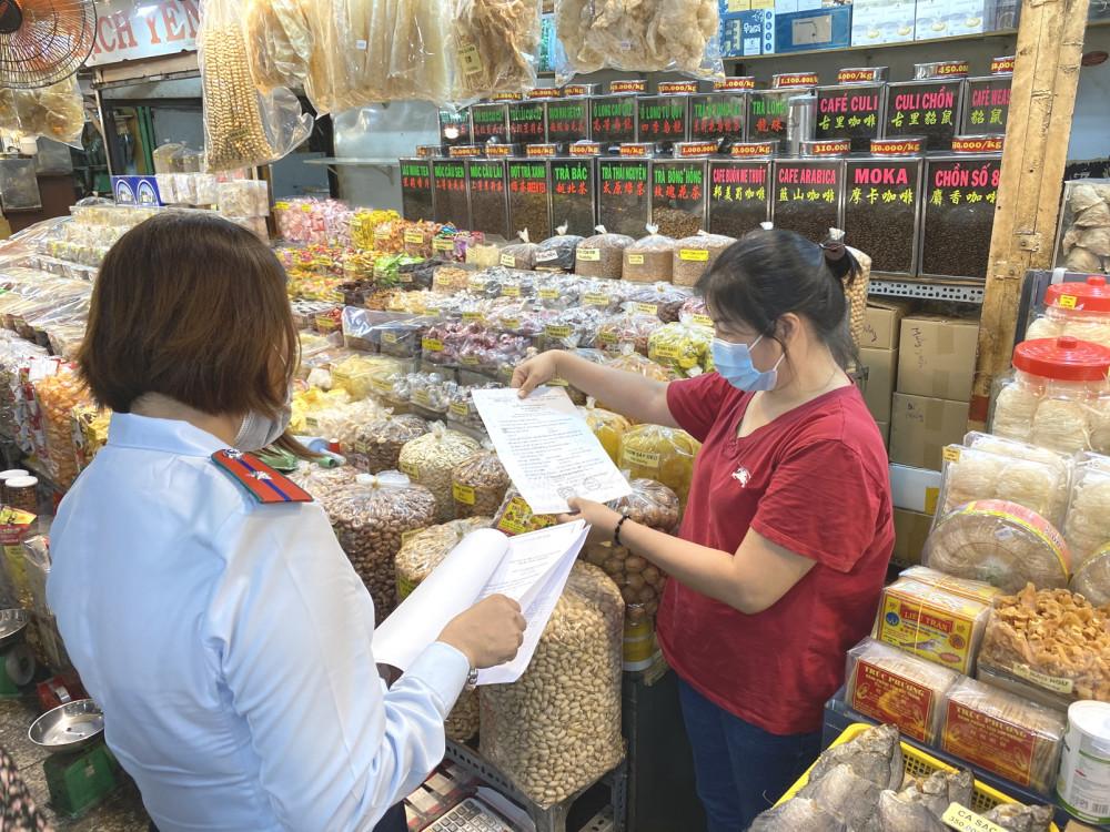 Ban Quản lý an toàn thực phẩm TP.HCM thành lập 20 đoàn kiểm tra, giám sát chất lượng thực phẩm dịp tết