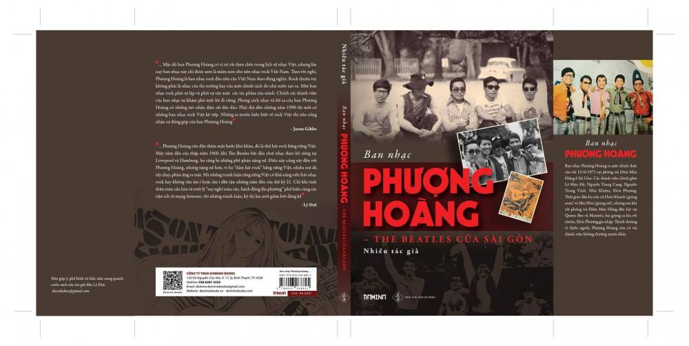 Bìa sách Ban nhạc Phượng Hoàng - The Beatles của Sài Gòn