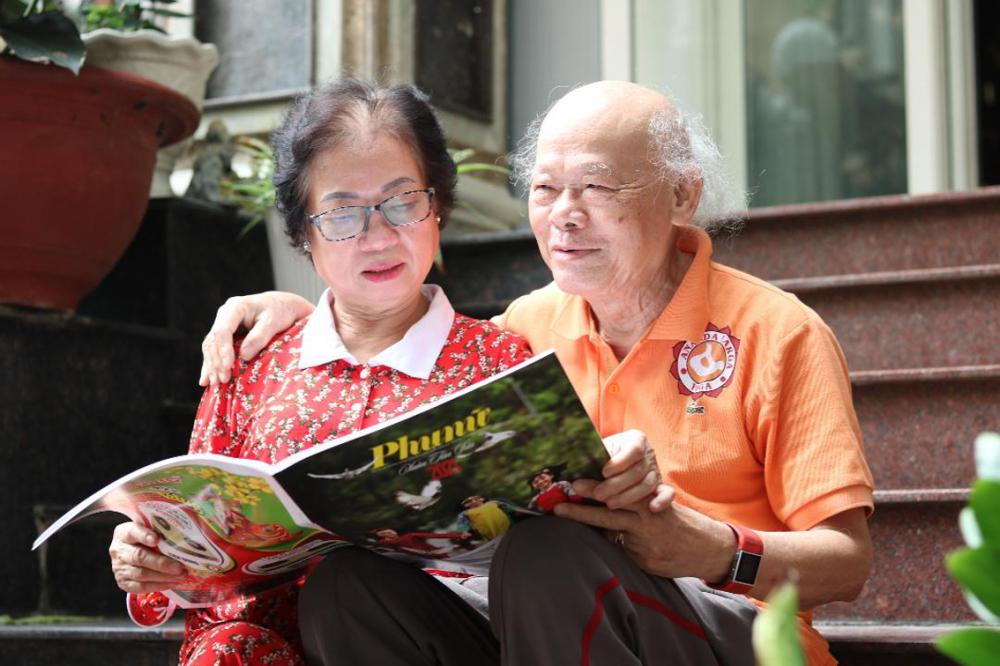 Vợ chồng bà Nguyễn Thị Thục Bình được anh chị em thuê trọ thương quý và trân trọng  như người thân bởi sự chân tình