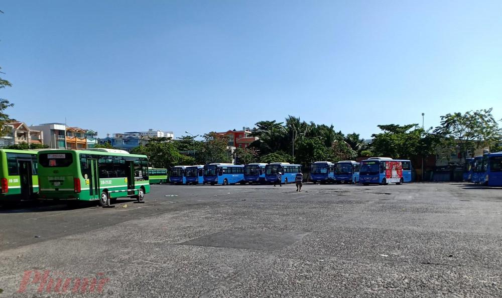 Có 5 tuyến xe buýt vẫn được duy trì trong chiều 30 Tết Tân Sửu.