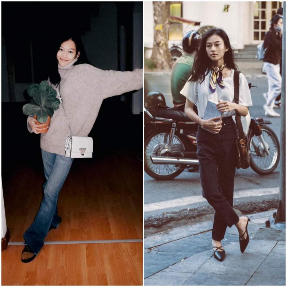 Cô nàng khá yêu thích phong cách cổ điển, thường xuyên đăng tải những hình ảnh đậm chất thập niên 80, 90 trên trang mạng xã hội cá nhân.