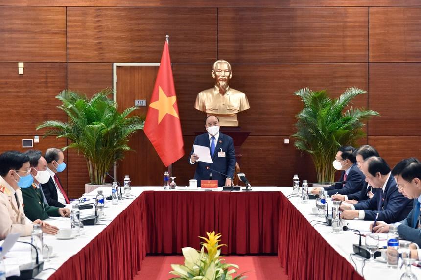 Cuộc họp được tổ chức tại Trung tâm Hội nghị Quốc gia Mỹ Đình