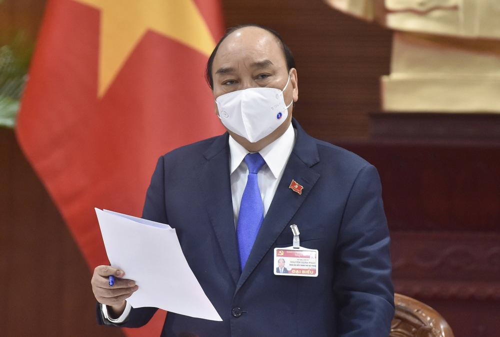 Tại Đại hội, hai lần Thủ Tướng triệu tập họp Chính phủ khẩn về phòng, chống COVID-19