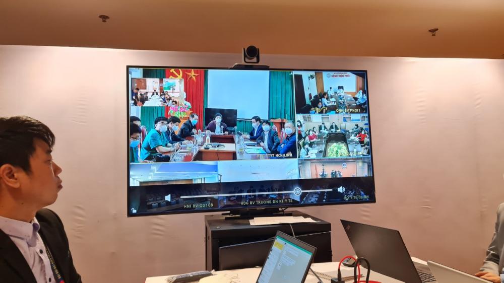 Chiều 29/1, Bộ Trưởng Bô y tế Nguyễn Thanh Long đã chủ trì phiên họp trực tuyến với hai điểm cầu Quảng Ninh và Hải Dương