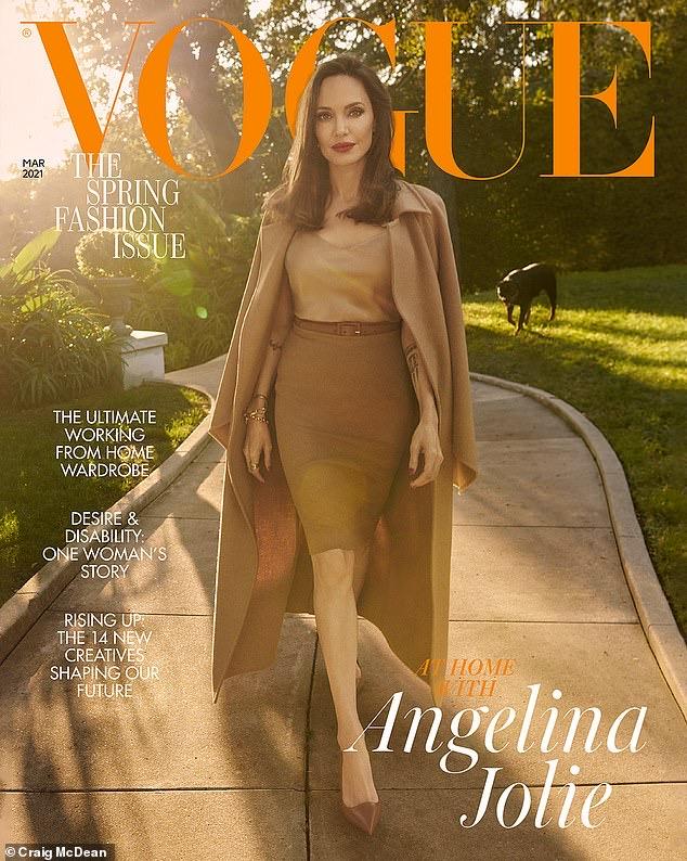 Nữ diễn viên trên bìa tạp chí Vogue