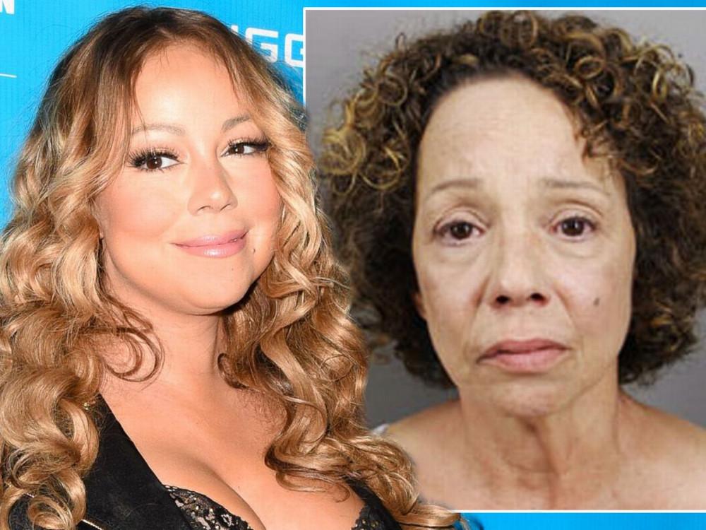 Mariah Carey (trái) và chị gái Alison nhiều lần không hoà thuận.