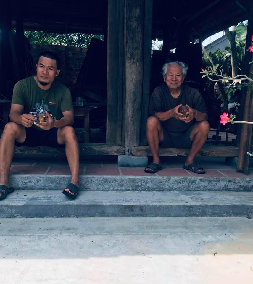 Anh Cao Quang Thắng và ba anh – ông Cao Văn Bình – Đại tá quân đội
