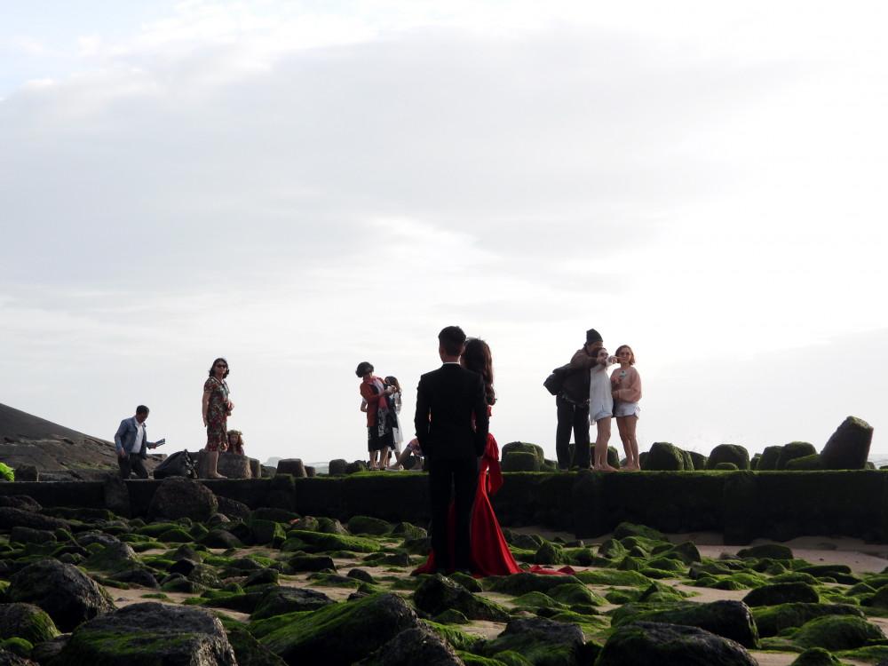 Nhiều cặp đôi chọn đây làm nơi chụp ảnh cưới