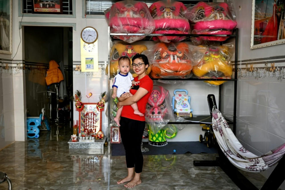 Kỳ lân nữ Lê Yến Quyên hiện đang có cuộc sống hạnh phúc cùng chồng và cô con gái nhỏ. Cô vẫn đang đặt ra các mục tiêu lớn hơn để tiếp tục chinh phục trong tương lai - Ảnh: AFP