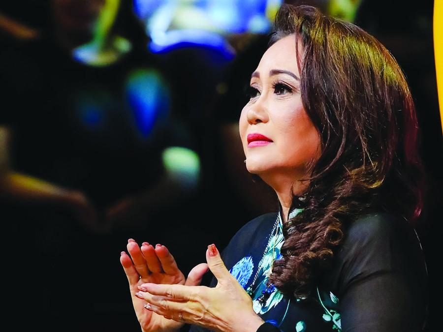 Nghệ sĩ Thanh Hằng mong có nhiều sức khoẻ để tiếp tục phục vụ khán giả