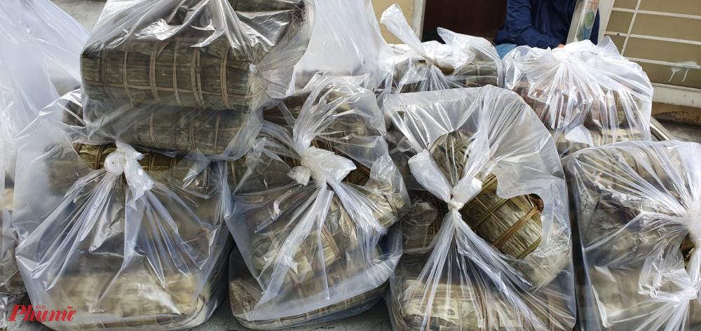 370 đòn bánh tét được các cấp Hội hỗ trợ cho các gia đình