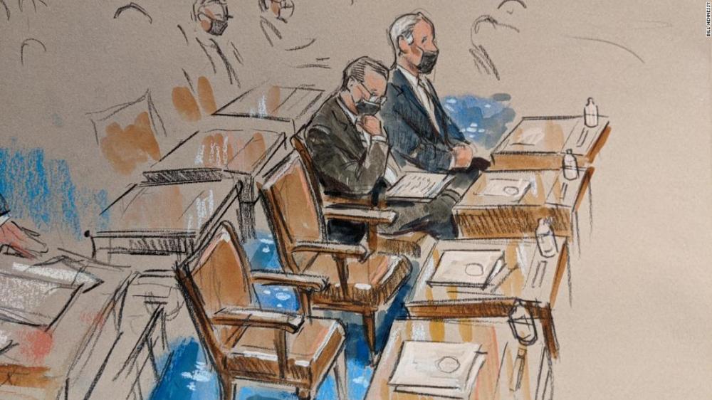 Các nghị sĩ Dân chủ chủ trì cuộc luận tội đã hoàn thành việc đưa chứng cứ nhằm kết tội ông Trump, tiếp theo đến phần biện hộ của các luật sư của cựu Tổng thống - Ảnh: CNN