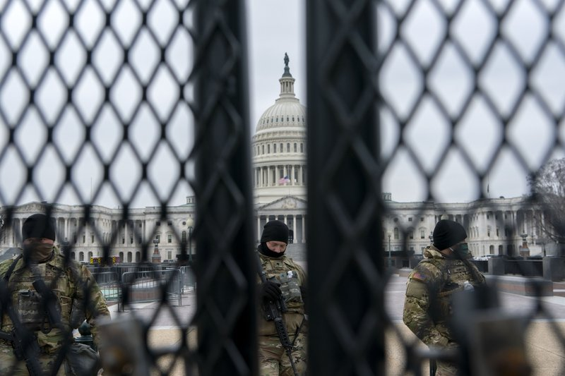 An ninh tiếp tục được thắt chặt tại đồi Capitol trong thời gian diễn ra phiên luận tội