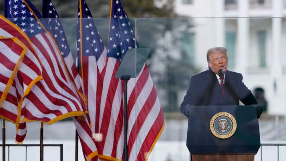 Ông Trump có bài phát biểu trước những người ủng hộ hôm 6/1