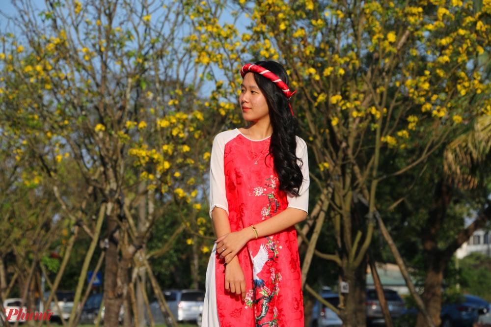 Huế được xem là xứ sở của của cây hoàng mai. Đi đâu ở Huế cũng có thể bắt gặp cây hoàng mai.