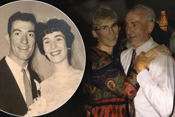 Ông bà Micky và Dee Newman đều đã chết vì lây nhiễm COVID-19 trong viện dưỡng lão - Ảnh: New York Post