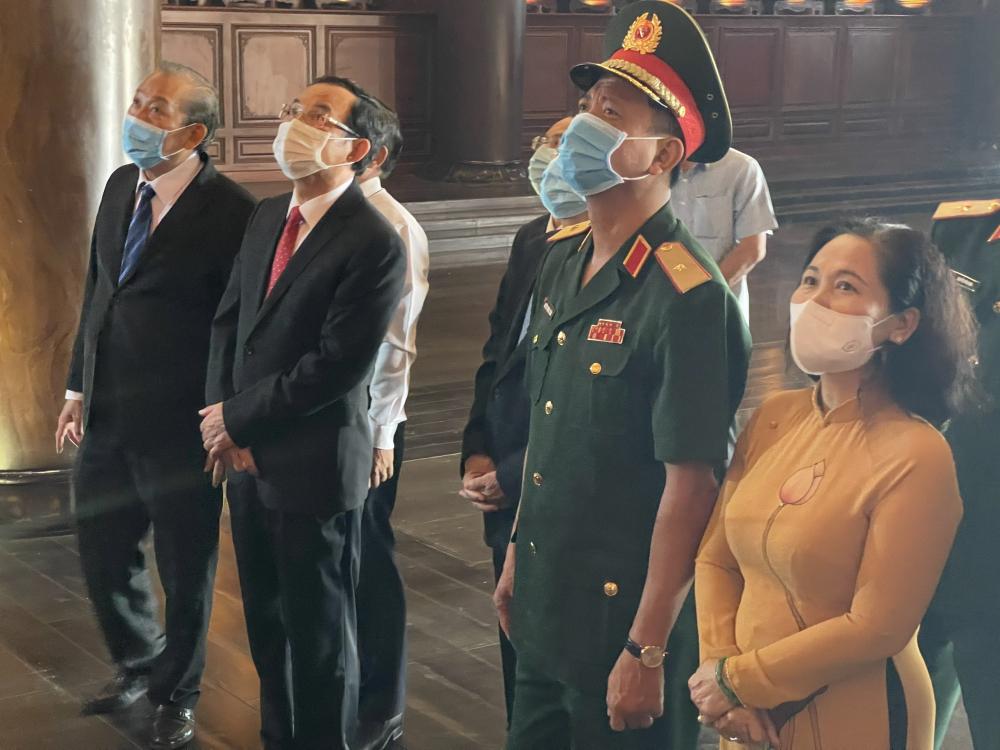 Họp mặt truyền thống cách mạng Sài Gòn - Chợ Lớn - Gia Định - TPHCM được tổ chức vào mùng 5 Tết hàng năm là dịp tri ân của lãnh đạo và nhân dân TP đối với những người đóng góp cho chặng đường lịch sử của vùng đất Sài Gòn - Chợ Lớn - Gia Định - TPHCM.