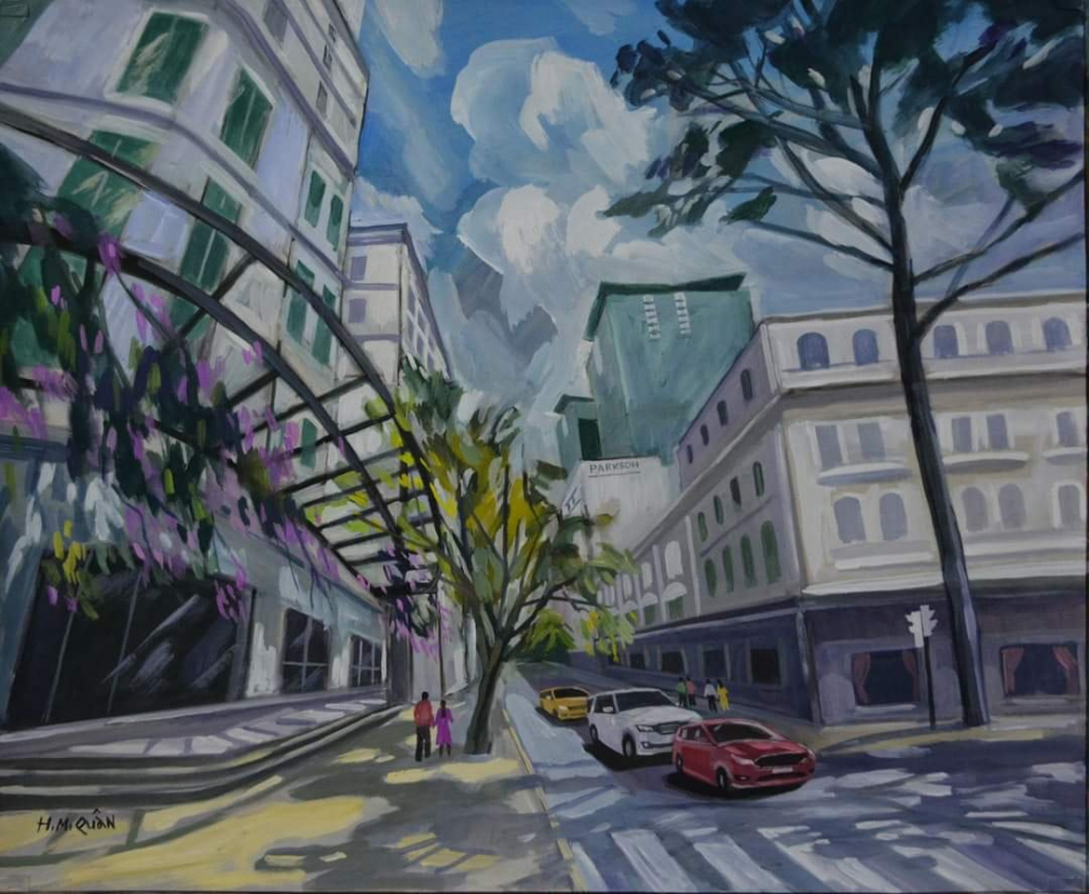 Sài Gòn những ngày bình yên ta dạo phố.