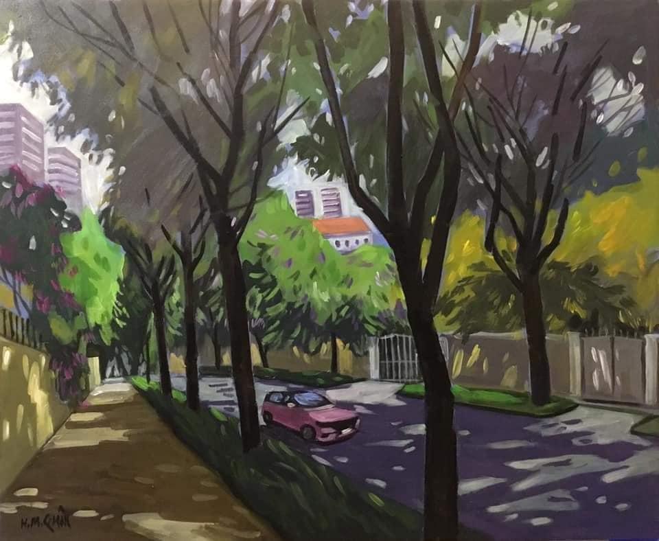 Nắng phương Nam len lỏi đường phố Sài Gòn.