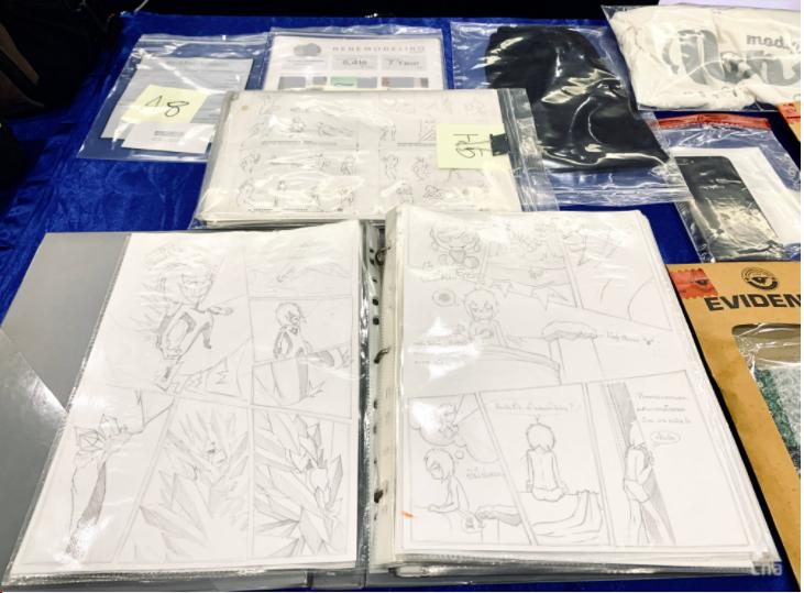 Các bản vẽ bị chính quyền Thái Lan tịch thu trong cuộc khám xét