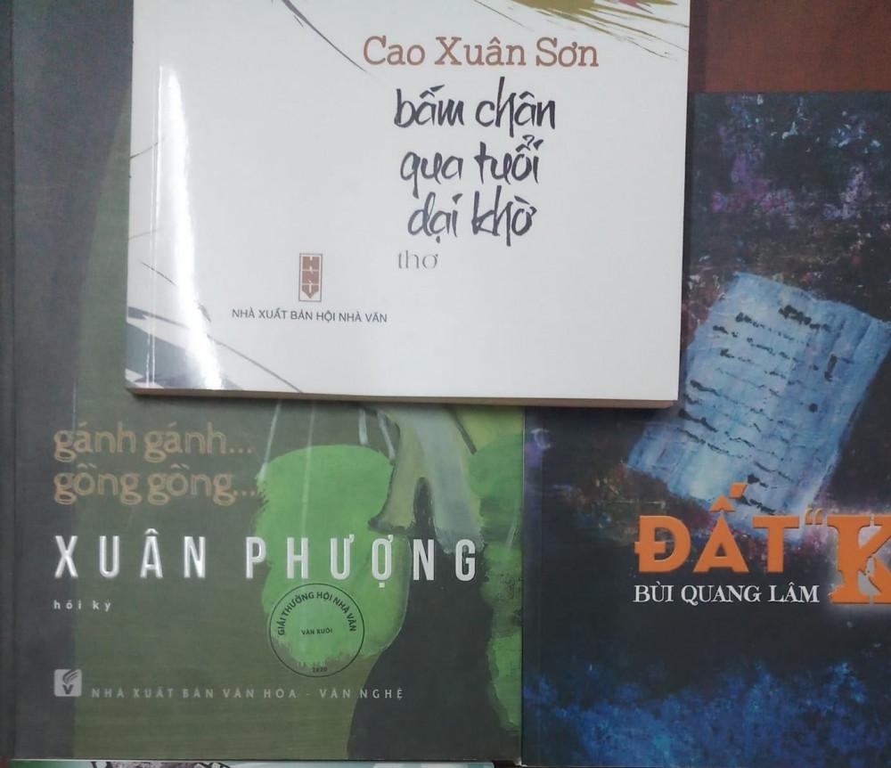 Các tác phẩm được trao giải thưởng Hội Nhà văn năm nay