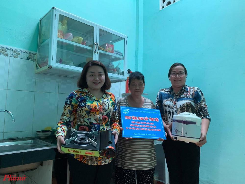 Gian bếp mới giúp các gia đình hội viên co