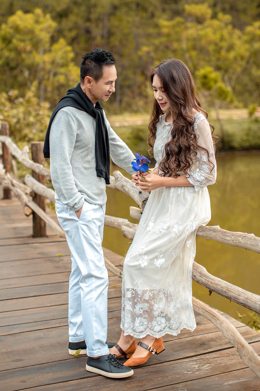 Hai vợ chồng vừa kỷ niệm 10 năm ngày cưới vào dịp gần cuối năm 2020.