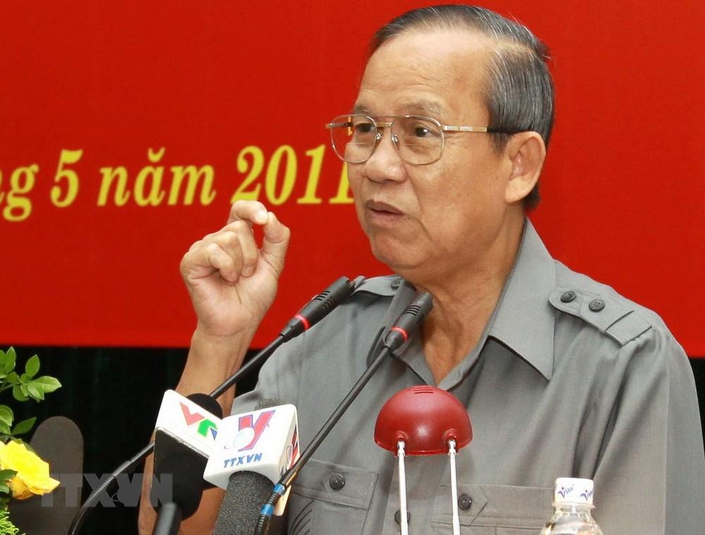 Nguyên Phó Thủ tướng Trương Vĩnh Trọng. Ảnh: TTXVN