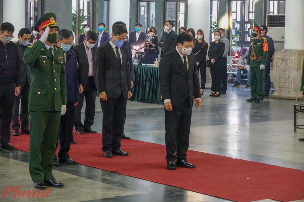 Đoàn Chính phủ nước Cộng hòa xã hội chủ nghĩa Việt Nam do Ủy viên Bộ Chính trị, Thủ tướng Chính