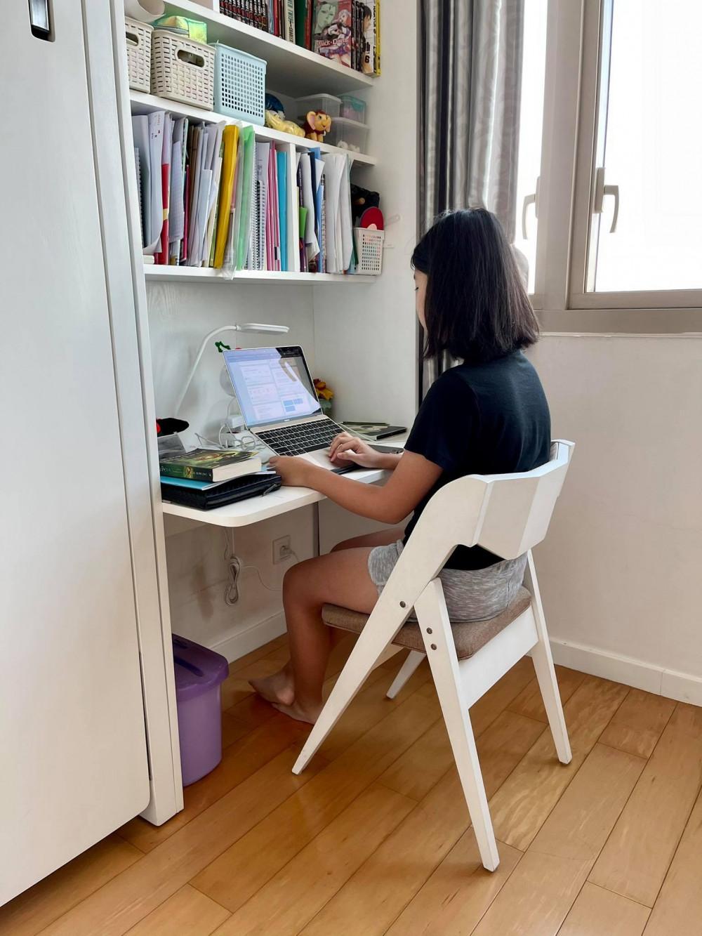 Học sinh bắt nhịp học trực tuyến ngay sau kỳ nghỉ tết