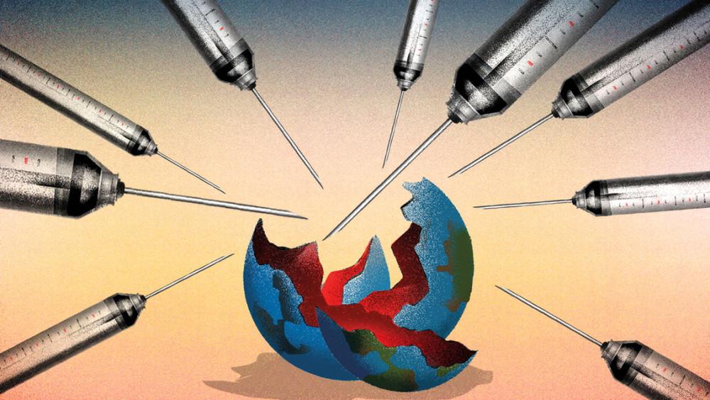 Khi COVID-19 bước sang giai đoạn mới, các dự đoán cho năm 2021 và cả tương lai nhân loại đều xoay quanh tác động của đại dịch - Ảnh: Foreign Policy