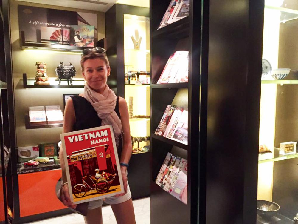 Valerie Baumal và tác phẩm Việt Nam Hà Nội của cô