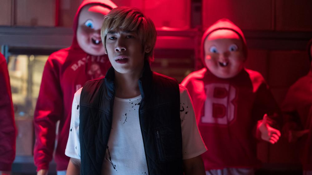 Nam diễn viên Phi Vu trong Happy death day. Hiện any đang tìm kiếm cơ hội xuất hiện strong nhiều dự án điện ảnh khác.