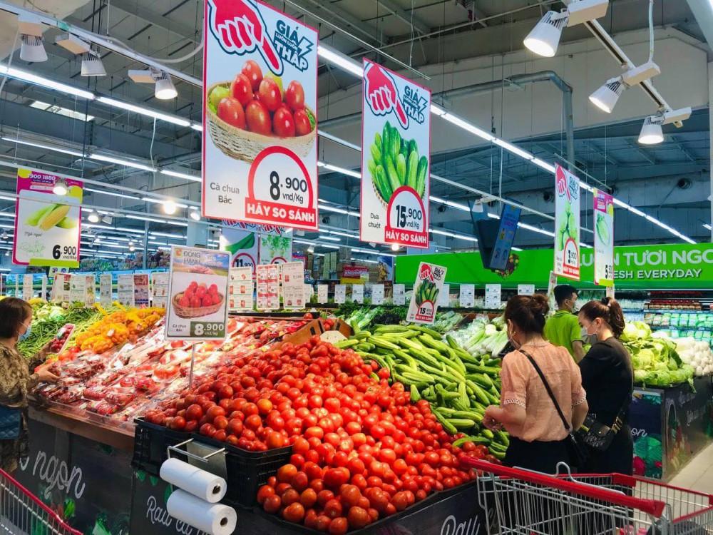 Các loại nông sản của tỉnh Hải Dương được siêu thị giải cứu, bán với giá ưu đãi từ ngày 22/2/2021.