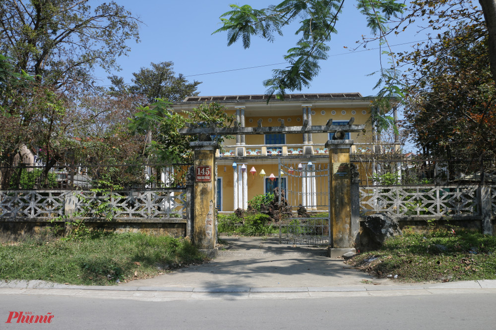 Căn nhà số 145 nơi  cụ Dinh chăm lo Đức Từ Cung đến những ngày cuối đời