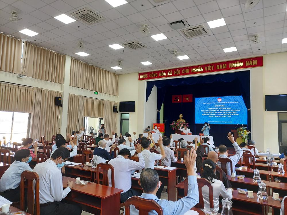 TPHCM và 62 tỉnh, thành trên cả nước đã hoàn thành Hội nghị hiệp thương lần I.