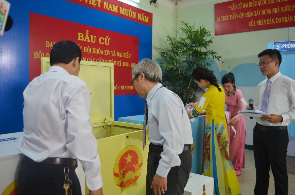 Công tác kiểm tra, giám sát bầu cử góp phần đảm bảo bảo đảm cho cuộc bầu cử thật sự dân chủ, đúng luật, an toàn, tiết kiệm.