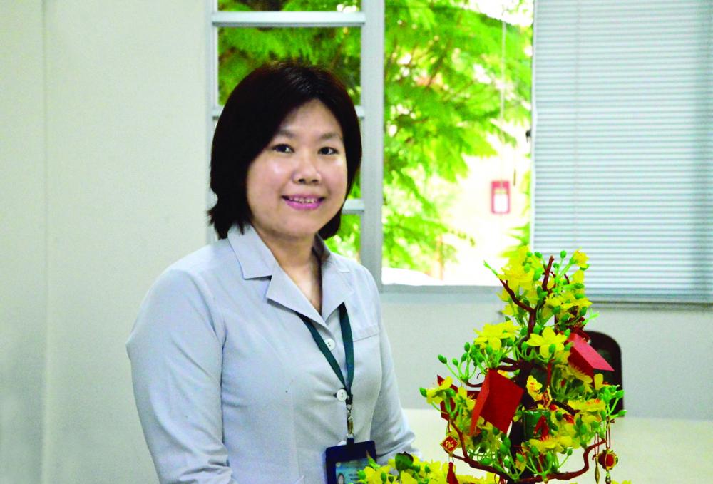 Thạc sĩ Nghiêm Mỹ Ngọc - Phó trưởng khoa Xét nghiệm, Bệnh viện Bệnh nhiệt đới TP.HCM
