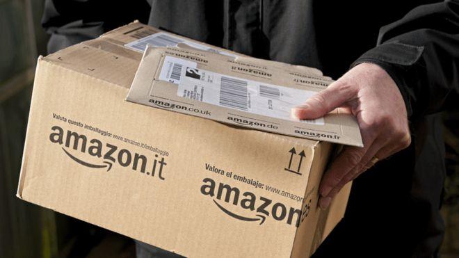 Trang thương mại điện tử Amazon ở thị trường một số nước bị USTR đưa vào báo cáo năm 2020 của mình - Ảnh: citinewsroom