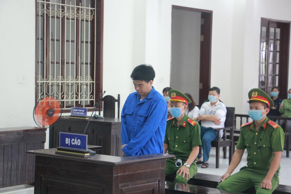 Bị cáo Nguyễn Thanh Ngà tại phiên xử sơ thẩm