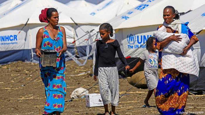 """LHQ mô tả cuộc khủng hoảng nhân đạo ở Tigray là một """"tình huống cực kỳ nghiêm trọng"""" - Ảnh: DW/Getty Images"""