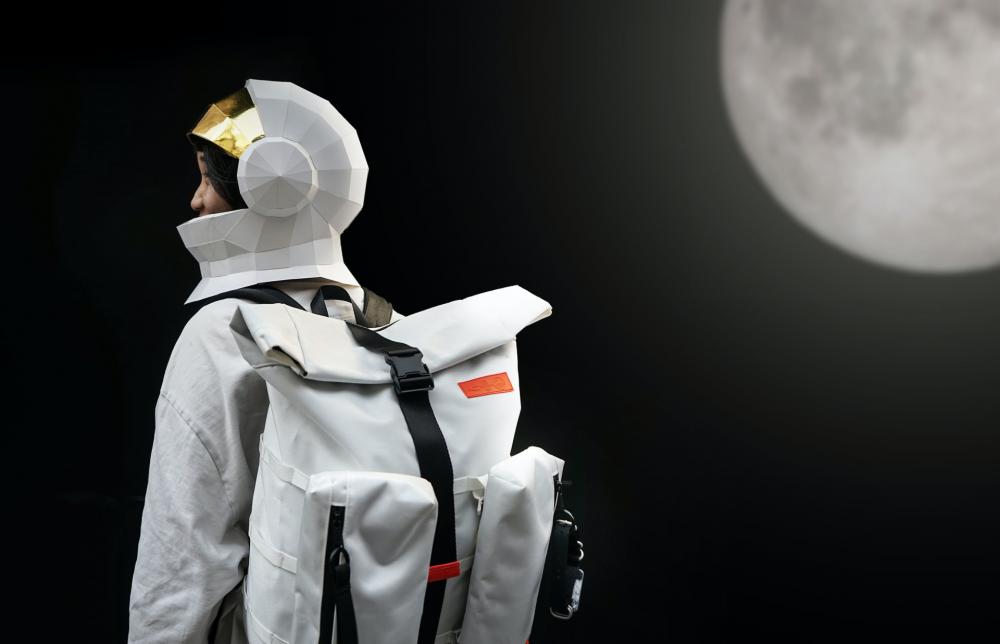 Thiết kế túi không gian HowBottle hợp tác thực hiện cùng Cơ quan không gian quốc gia Trung Quốc. (Ảnh: HowBottle)