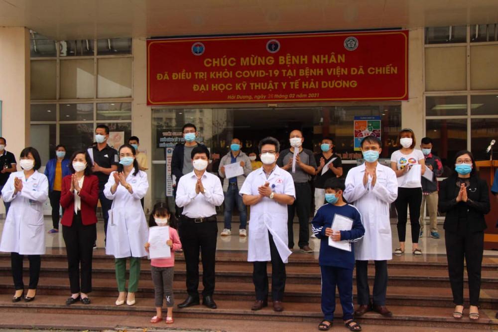 Các bệnh nhân được công bố khỏi bệnh ngày 26/2.