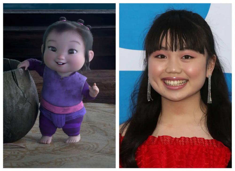 Nữ diễn viên trẻ Thalia Trần lồng tiếng cho nhân vật Little Noi.