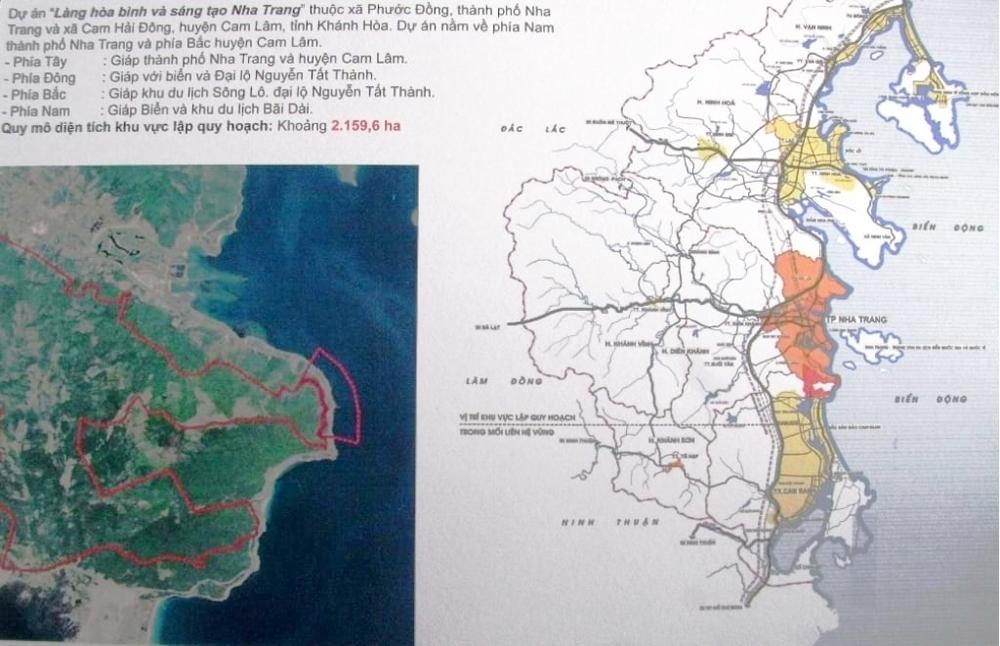 Dự án được xem có quy mô lớn nhất tại tỉnh Khánh Hoà