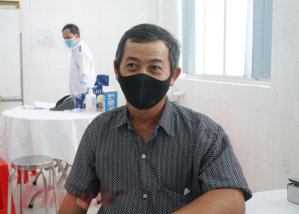 y được tiêm cho ông N.M.T. (52 tuổi, ở xã Thanh Phú)