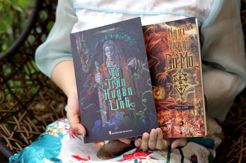 Tứ trấn huyền linh và Ngôi làng Cổ Mộ là hai tác phẩm hiếm hoi của Việt Nam thuộc thể loại tâm linh - huyền bí - Ảnh: Fanpage nhà văn thục Linh